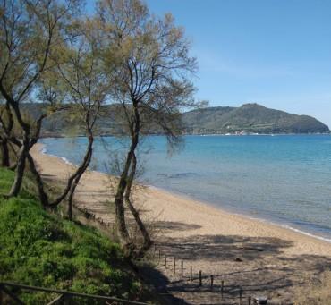 Campingplatz nähe zu Baratti mit für Wanderwegen und Mountainbike